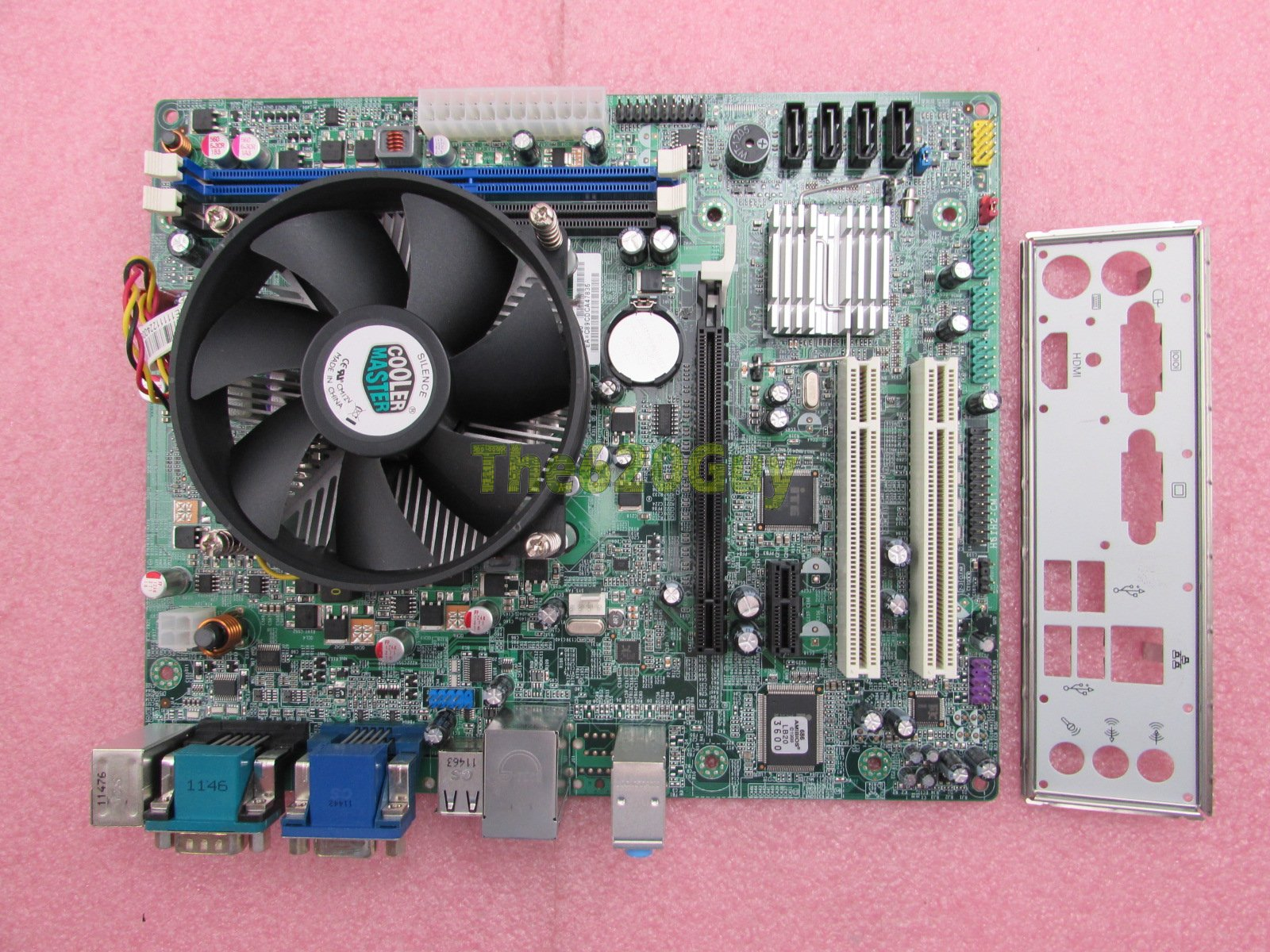 PowerSpec B32Y ECS H61H2-CM VER 1 0 Motherboard + Intel Pentium G620 2 6GHz  CPU - The620Guy com