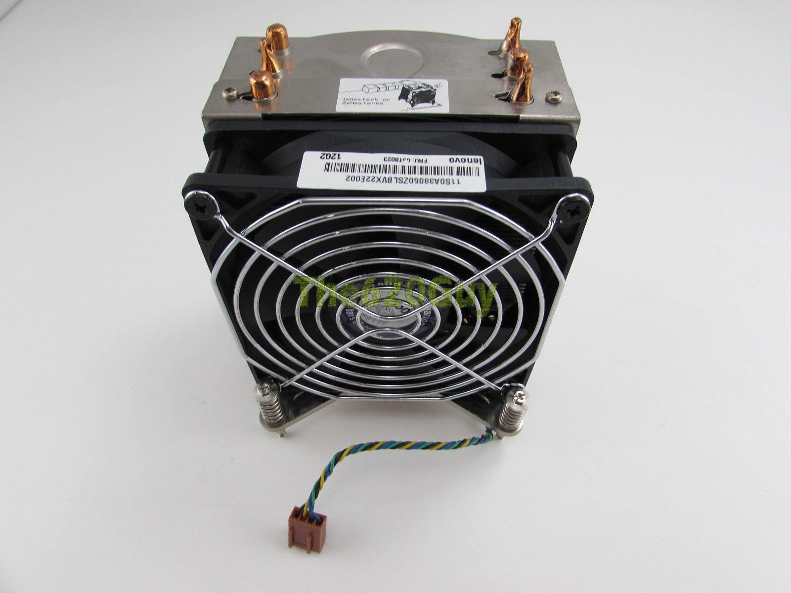 Lot of 2 IBM 49Y4820 49Y5341 CPU Cooling Server Heatsink For X3550 X3650 M2//M3
