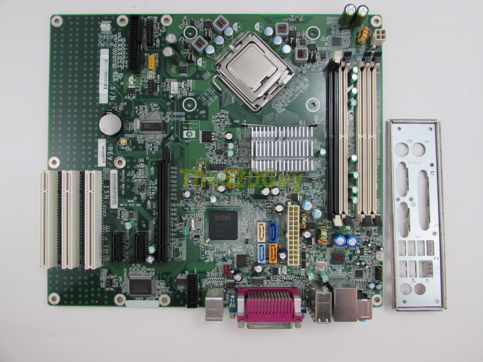 HP Compaq DC7800 437795-001 Grizzly Motherboard + Core 2 Duo E6750 2 66GHz  CPU - The620Guy com