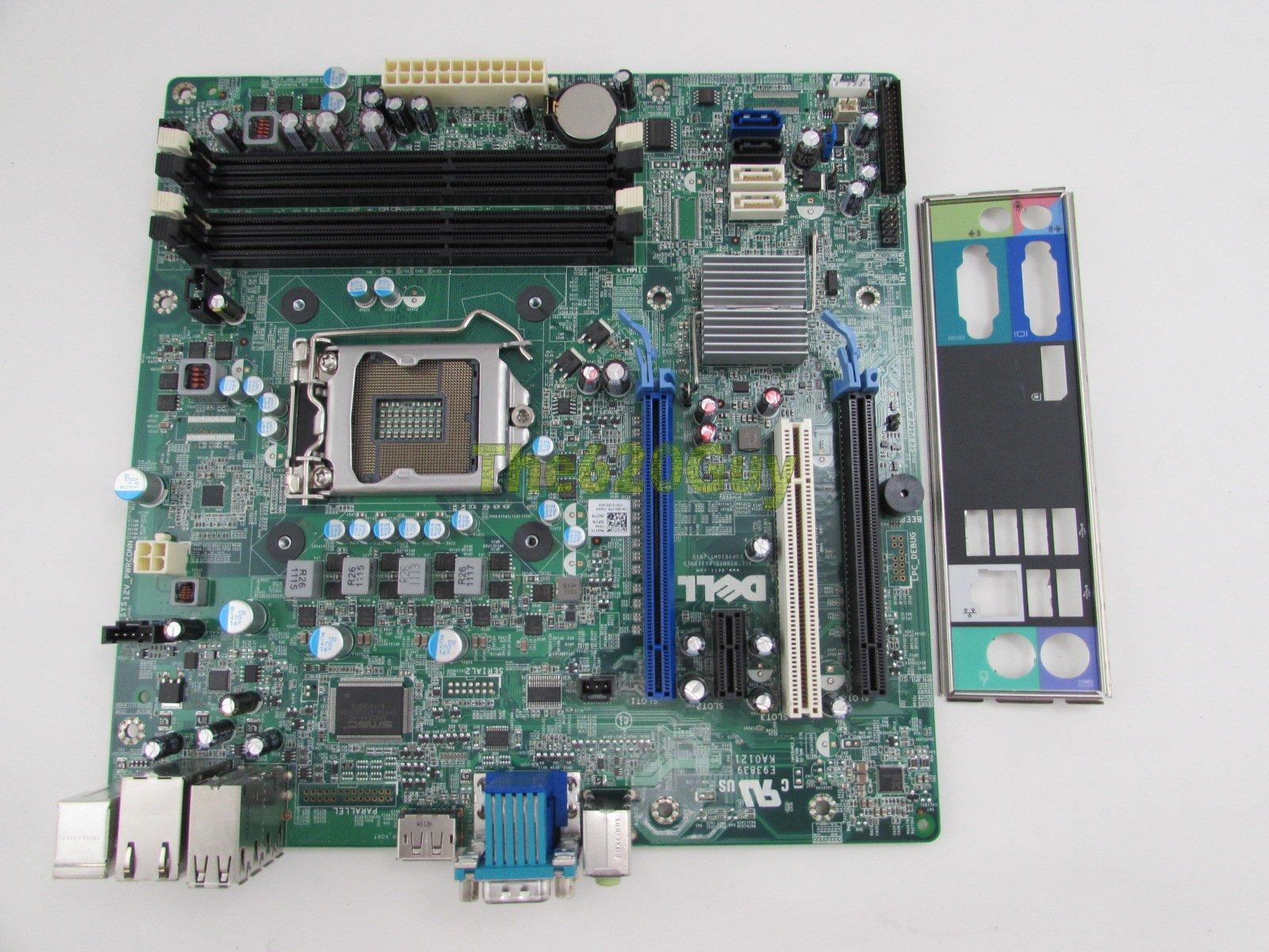 Dell OptiPlex 990 MT Motherboard 6D7TR Socket 1155 Q67 System Board + I/O  Plate - The620Guy com