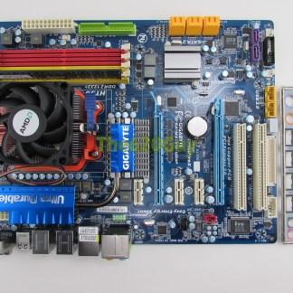 Gigabyte Ga Ma790x Ud4p Rev 1 0 Motherboard Phenom Ii X4 945 3ghz Cpu 1gb The620guy Com