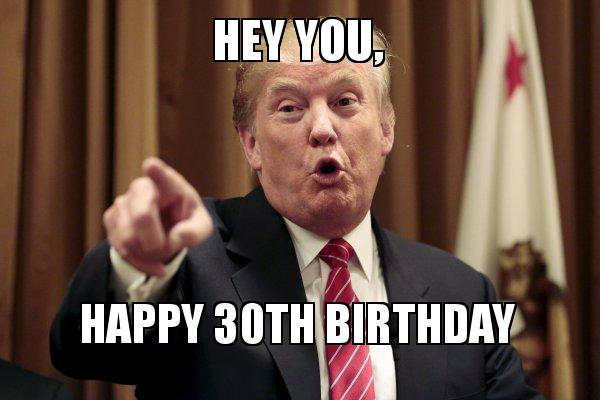 Best 30th Birthday Memes Funny Wishes