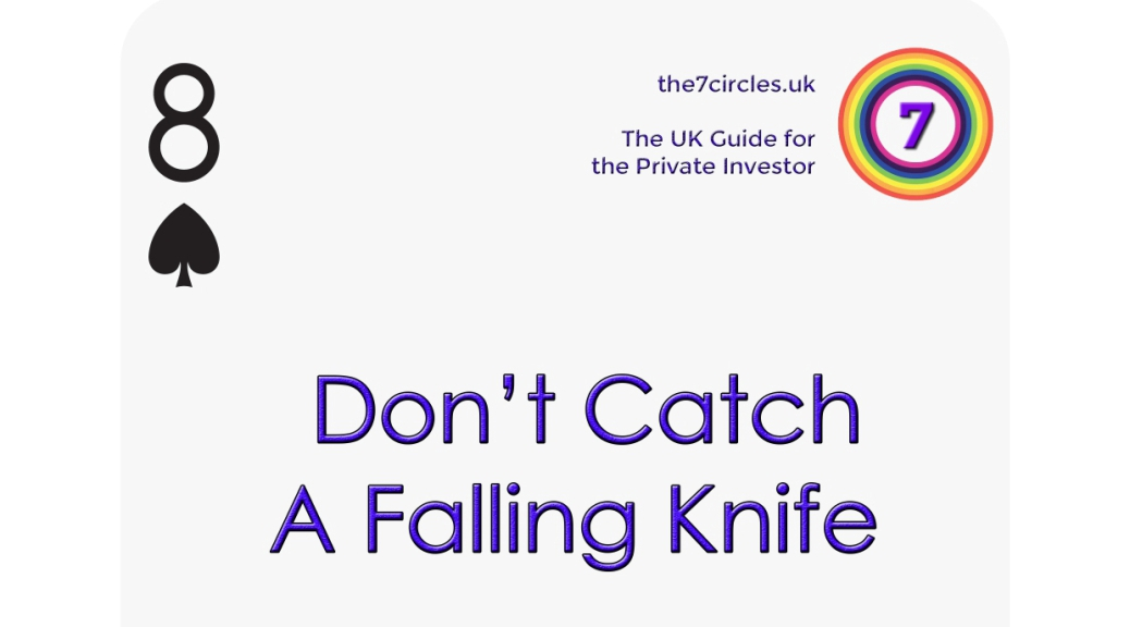 8♠ - Don't catch a falling knife