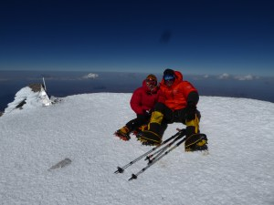 Yes! Summit Mount Elbrus. But all I want to do is sit...