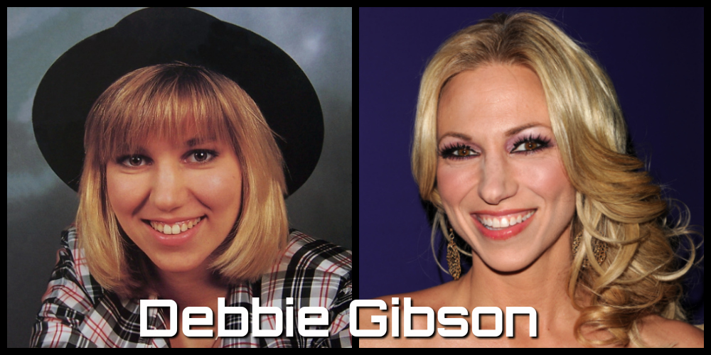 debbie gibson then and now