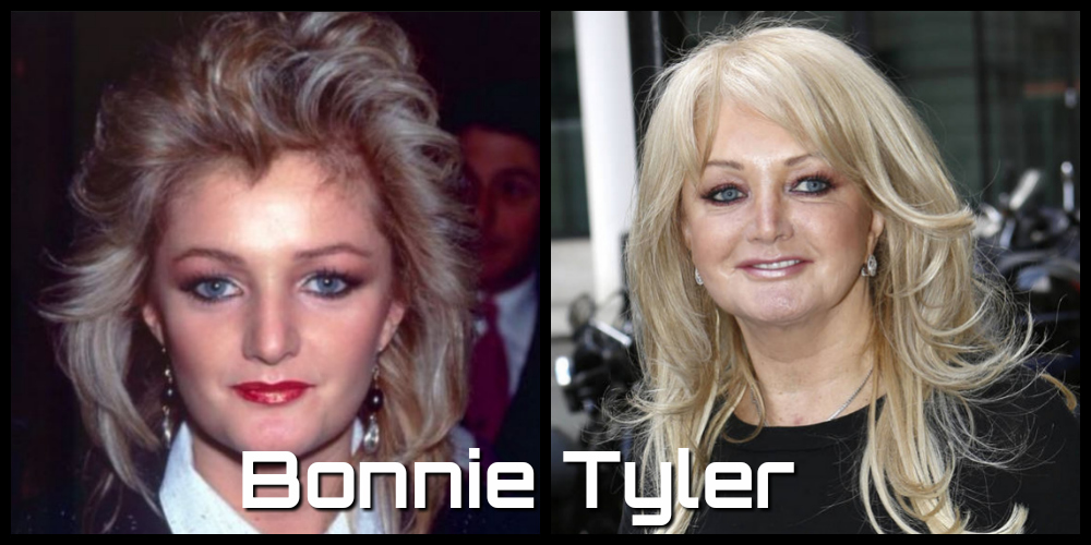 bonnie tyler then and now