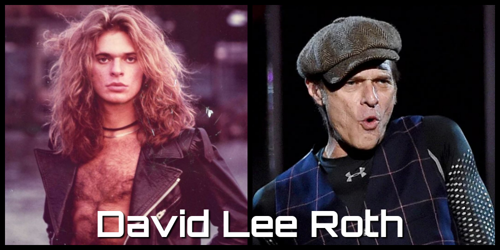 david lee roth then and now