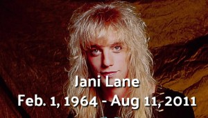 Warrant's Jani Lane - 80's Superstar Gone Too Soon