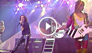 Scorpions Performing 'Still Loving You' Live in 1985 on Peter's Popshow