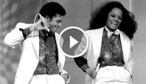 Michael Jackson and Diana Ross Performing 'Rock With You' Live