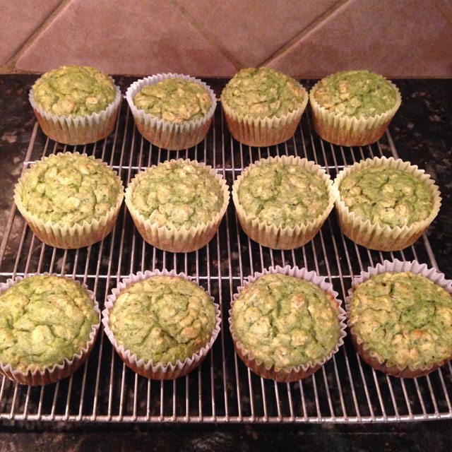 Hulk Muffins