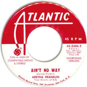 aretha franklin ain't no way