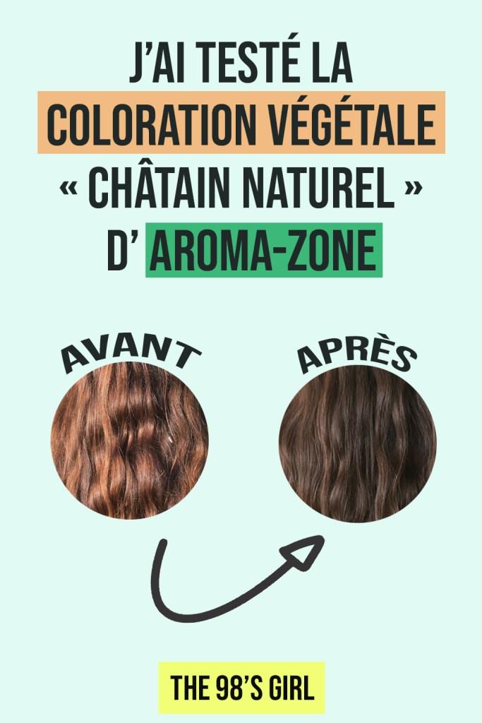 coloration végétale Aroma-Zone avis