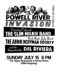 More from the Powell River Invasion Tour to come!