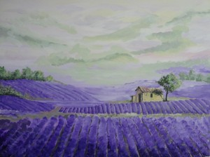 Lavenderfield Provence