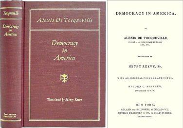 Alexis de Tocqueville Democracy in America Book