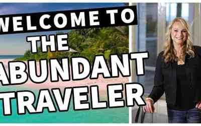 WELCOME TO THE ABUNDANT TRAVELER