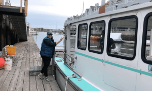 alongside the lucky catch portland maine lobster boat tour