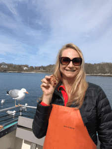 aboard the lucky catch portland maine lobster boat tour