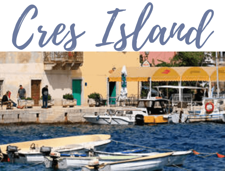 Best Islands in Croatia, Cres, Pinterest Pin, The Abundant Traveler