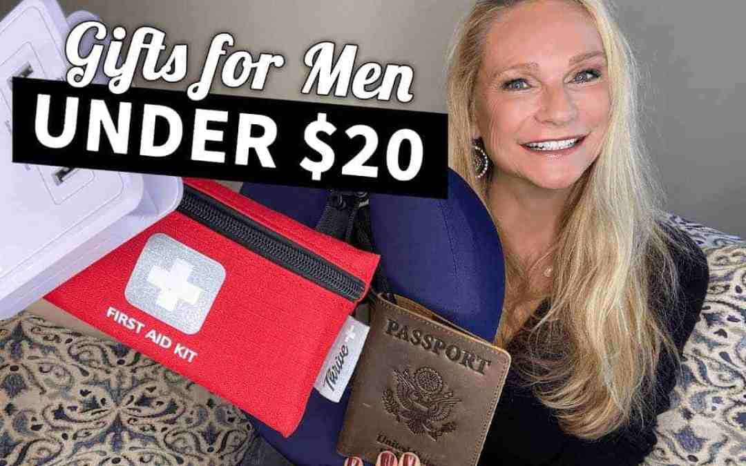 Travel Gifts for Men Over $20