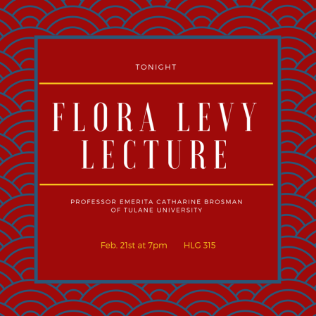 Flora Levy Lecture (cover)