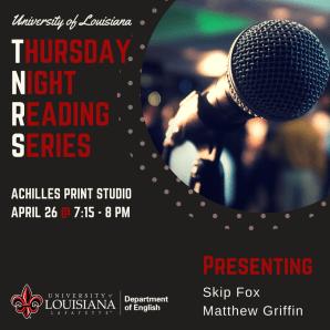 Thursday Night Reading Series