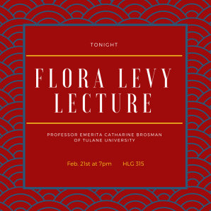 Flora Levy Lecture (cover) (1)