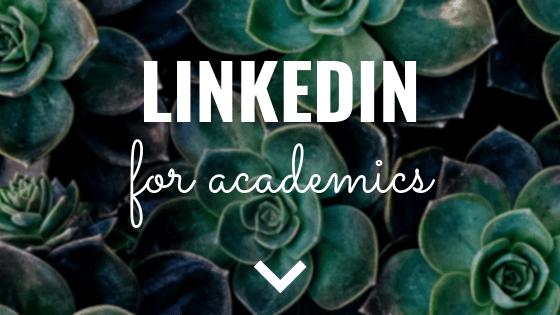 LinkedIn for academics