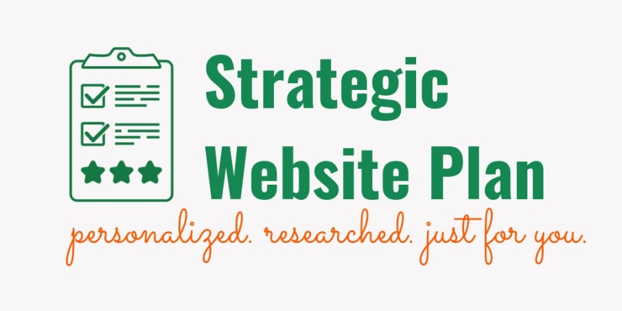 Strategic Website Plan