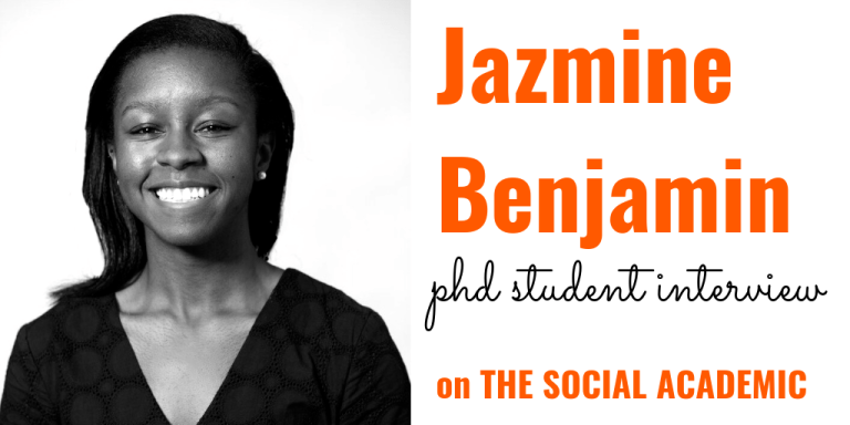 Jazmine Benjamin on The Social Academic