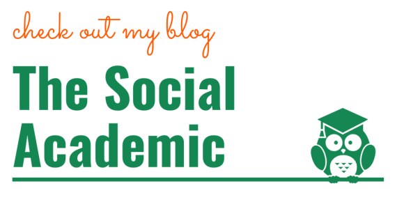 Check out my blog, The Social Academic