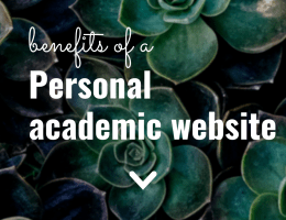 Benefits of a Personal Academic Website   The Social Academic