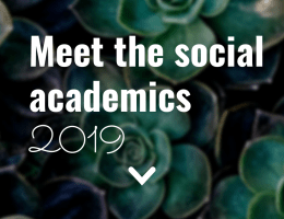 Meet the Social Academics of 2019
