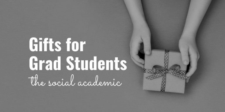 Gift guide for grad students