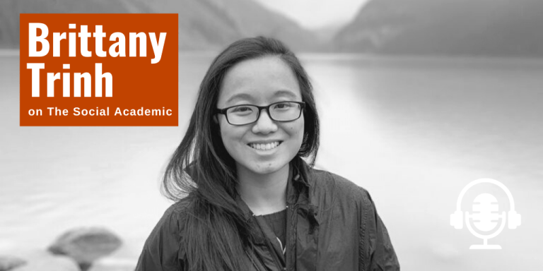 Brittany Trinh on The Social Academic blog