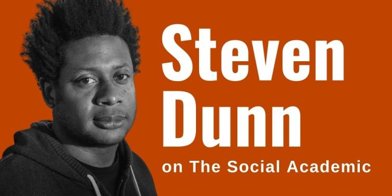Steven Dunn on The Social Academic blog feature interview