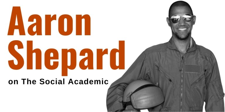 Aaron Shepard bio on The Social Academic feature interview series
