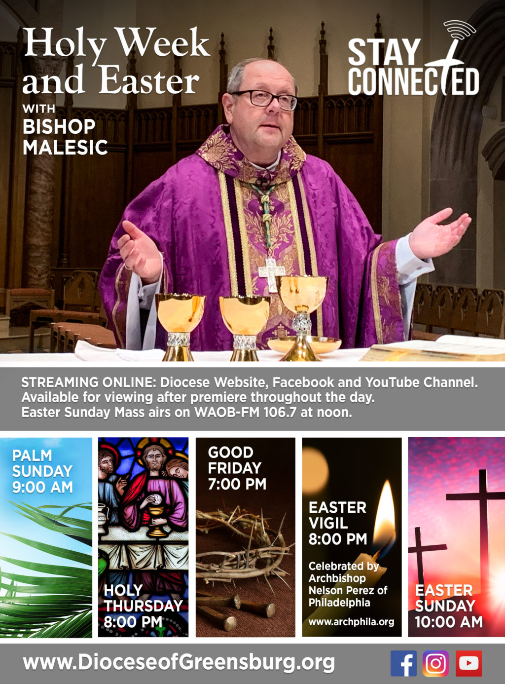 Holy Week And Easter With Bishop Malesic
