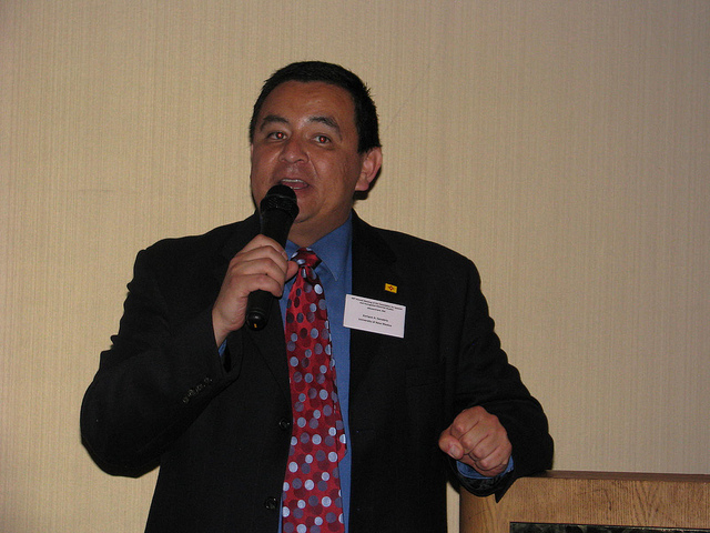 Being a master of ceremonies is a different type of public speaking
