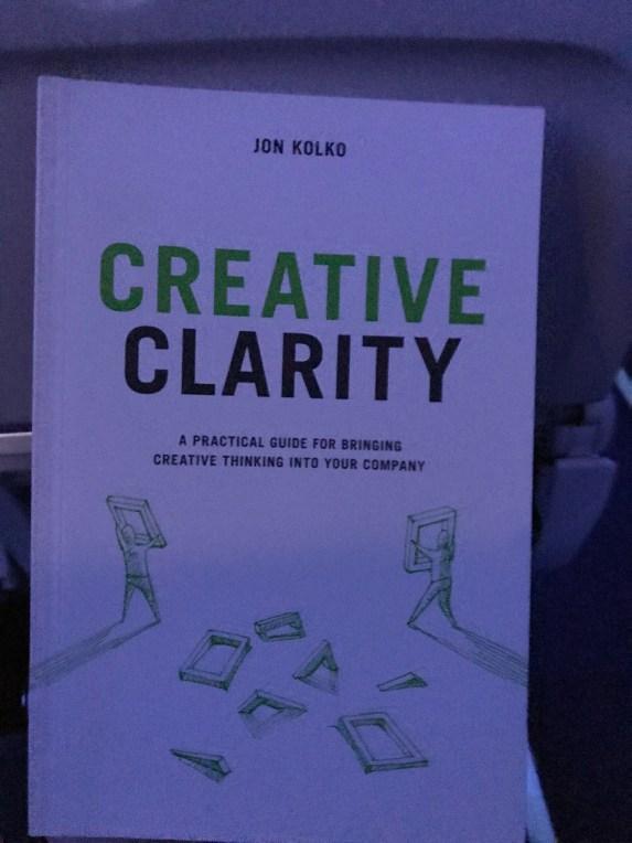 Creative Clarity Book