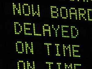 Sometimes a delay can be a good thing