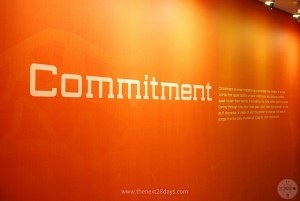 In a negotiation, what you really want from the other side is commitment