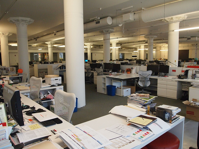 An Open Office removes walls, but does it create too much noise?