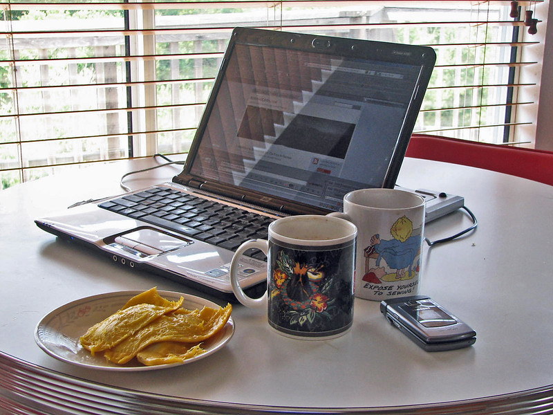 Will 5G help more people to work from home? Image Credit: Debra Roby