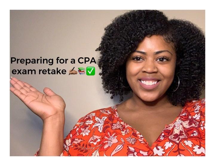 Preparing for a CPA Exam Retake