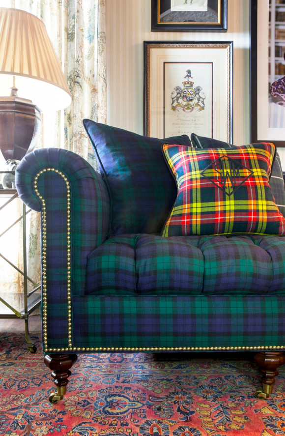 Ace of Space - Scot Meacham Wood Home - Inverness Sofa