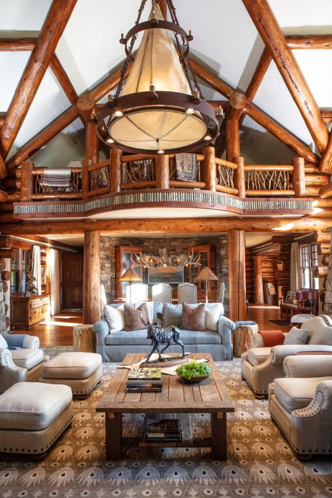 western style, western interiors, luxury interiors, montana homes