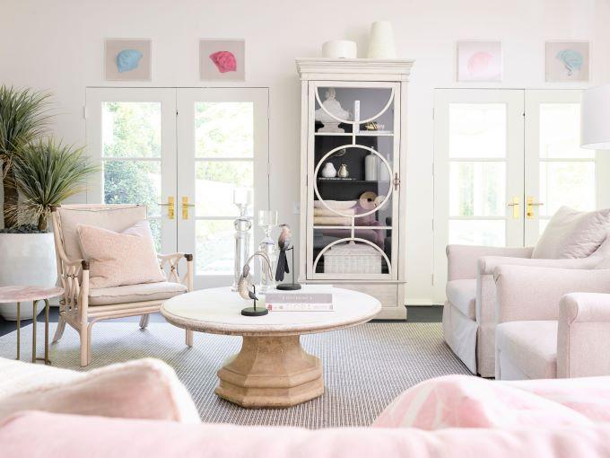 southeastern showhouse, luxury design, interior design, living room design, atlanta designers