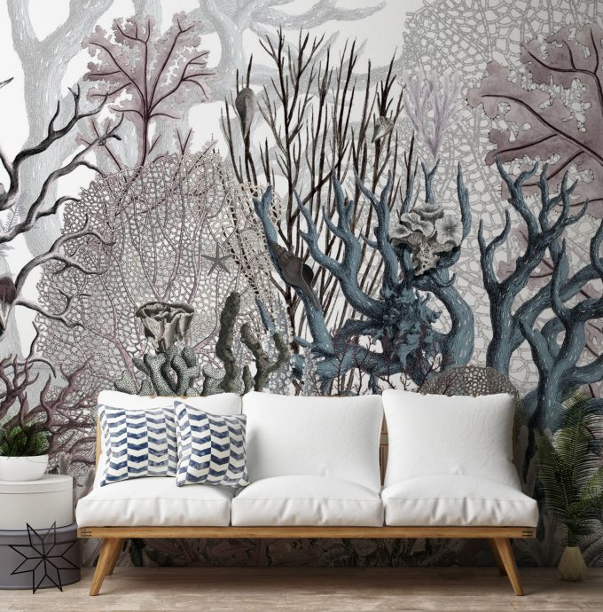 luxury wallpaper, wallpaper murals, interior design, luxury interior design,